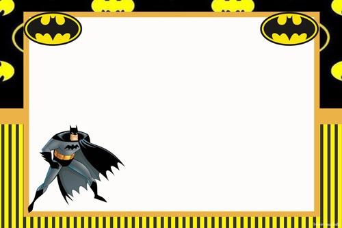 Decoración de Batman para cumpleaños