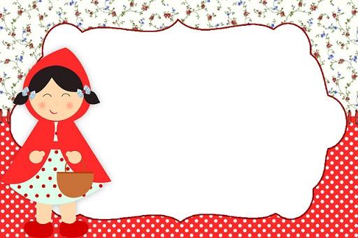Kit imprimible de Caperucita Roja para descargar gratis | Todo Peques