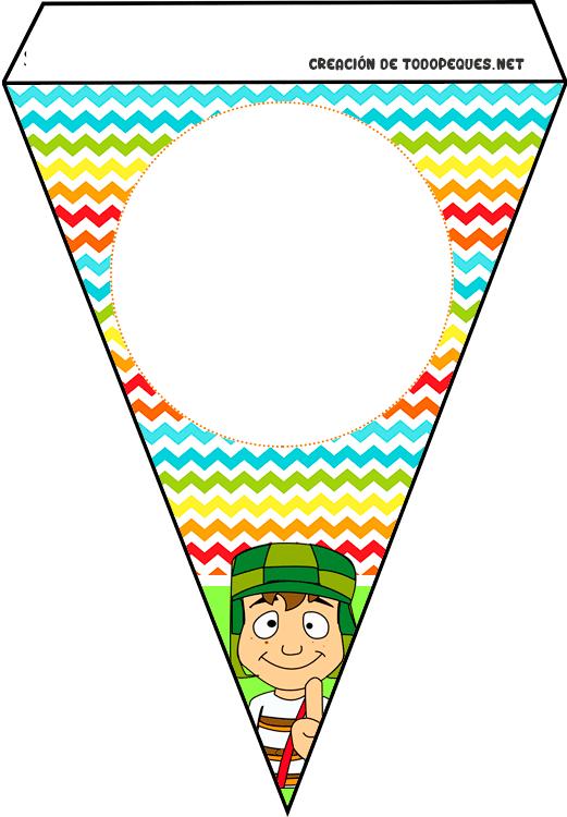 Banderines de Chavo del 8