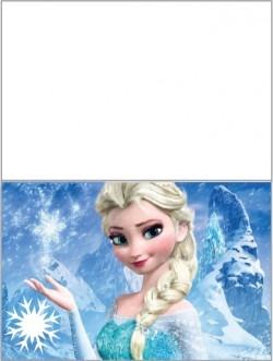 tarjetitas frozen