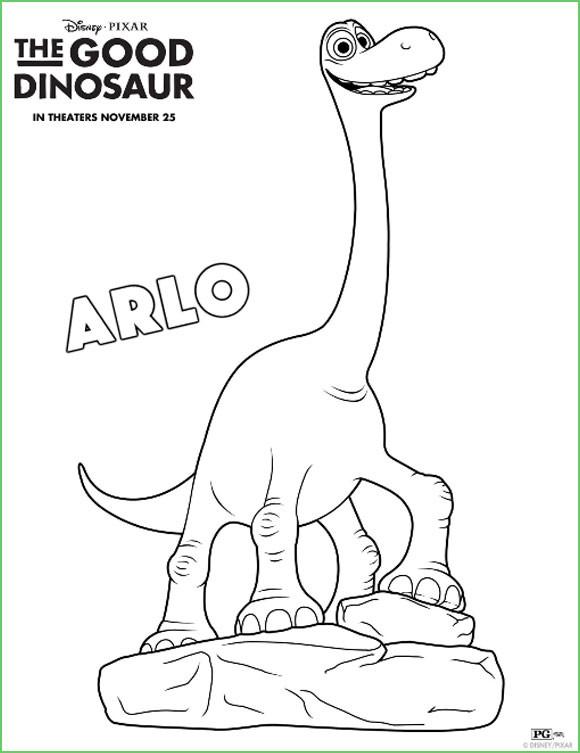 Dibujos de Un Gran Dinosaurio para colorear | Todo Peques