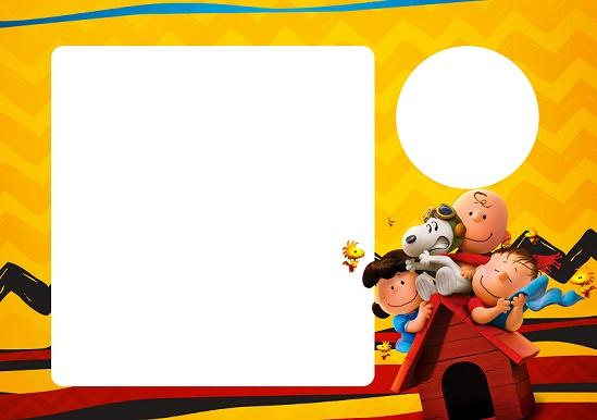 Kit imprimible de Snoopy candy bar decoración para descargar gratis ...