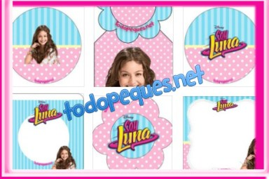 Kit imprimible de Soy Luna Descarga gratis