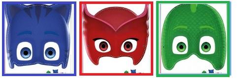 Pj Masks Máscaras Divertidas Para Imprimir Y Jugar Todo Peques
