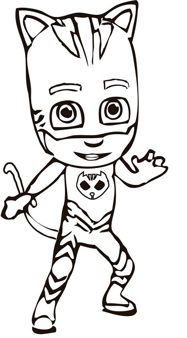 pidgey coloring page - dibujos para colorear pjmasks h roes en pijamas todo