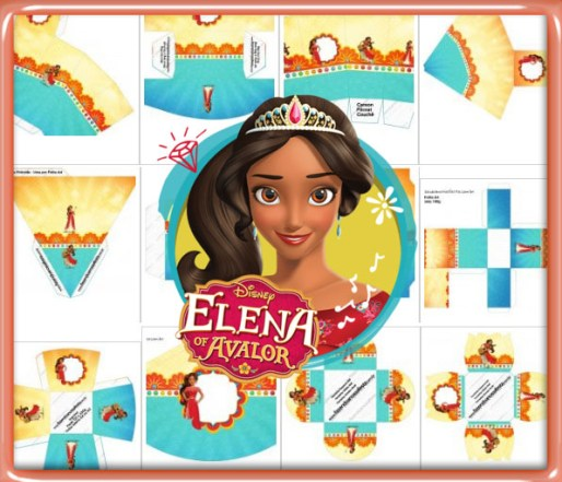 candy bar elena de avalor gratis