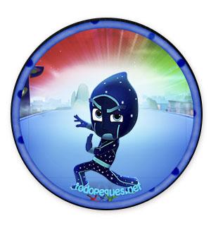 Ninjalinos Pj Masks imagenes - pegatinas pj masks ninjalino - imprimibles pj masks etiquetas