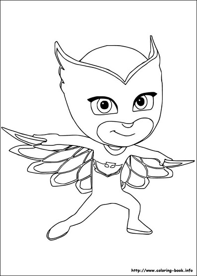 pigs in pajamas coloring pages - photo#39