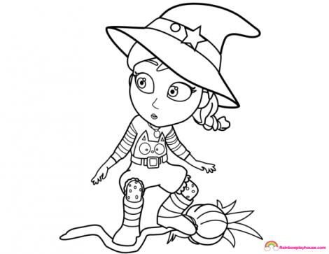 Dibujos Para Colorear De Vampirina Rosita Fresita 4