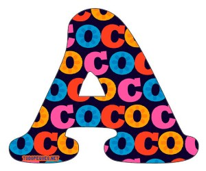 letters coco disney