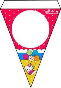 Banderines Hello Kitty