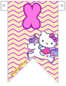 abecedario Hello Kitty