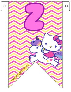 BANDERINES HELLO KITTY