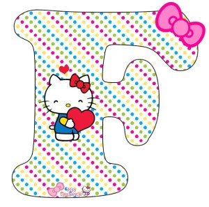 hello kitty alfabeto