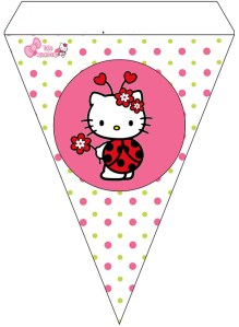 banners hello kitty decoration