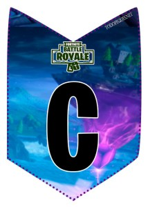 Cotillon fortnite imprimir