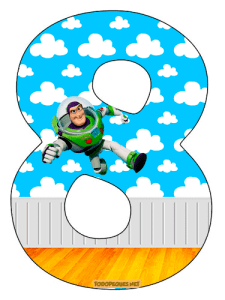Toy Story Numbers