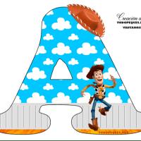 Letras de Toy Story Alfabeto para descargar gratis