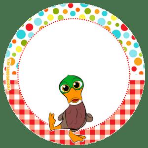 Zenon granja etiquetas stickers