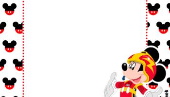 Banderines De Mickey Aventura Sobre Ruedas Todo Peques