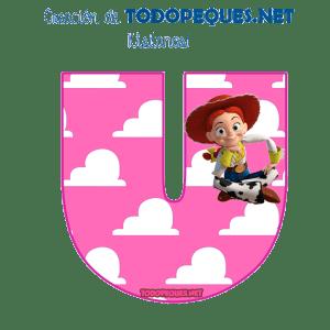 Letras Toy Story para imprimir