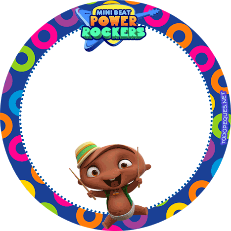 Candy bar de Mini Beat Power Rockers