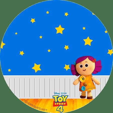 Etiquetas Toy Story 4