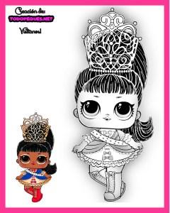 Imagenes-LOL-Dolls-para-colorear-Serie-5-LOL-SURPRISE-dibujos-para-colorear.