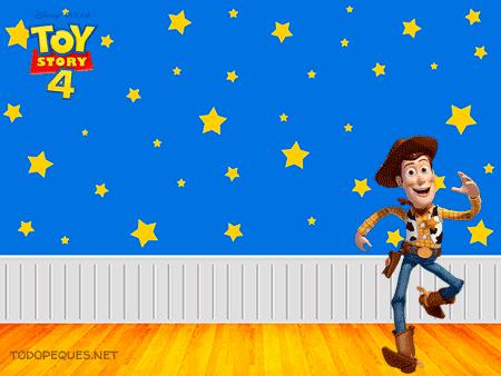 Tarjetas Toy Story 4