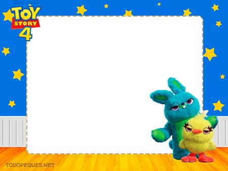 Toy Story 4 Conejo y Pato