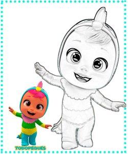 Dibujos de bebes llorones para imprimir -