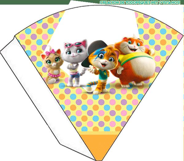 44 Gatos Kits Imprimibles para descargar gratis