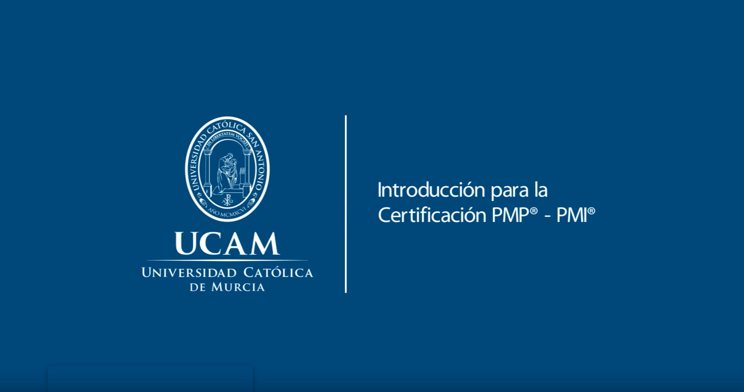 Curso MOOC introducción para la Certificación PMP® – PMI®