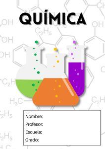 portada de química