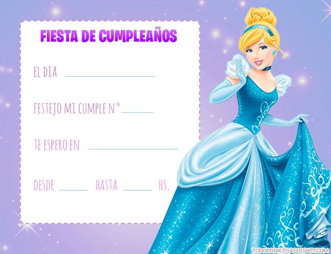 Tarjetas de Cinderella