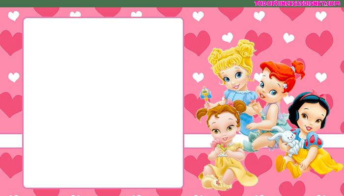 Kits Imprimibles Princesas Bebes descarga gratis