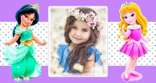 Fotomontajes Princesas Bebes
