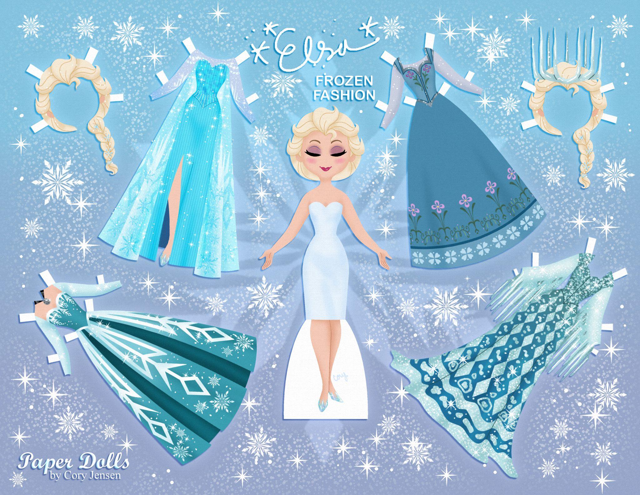 Juegos Para Vestir De Frozen Princesas Disney