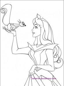 Dibujos De La Bella Durmiente Para Colorear Princesas Disney