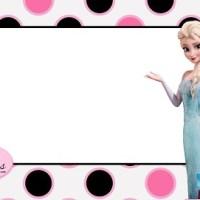 Tarjetas de Frozen para descargar gratis