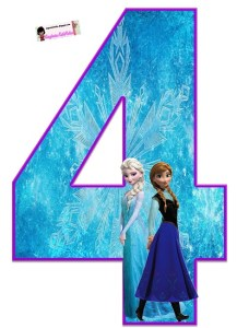 Frozen decoracion