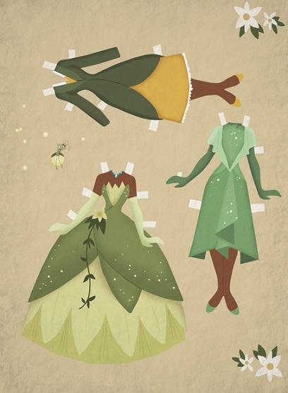 Paper Dolls Tiana 1