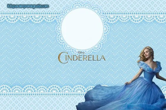 Kit imprimible Cinderella moderna 2015