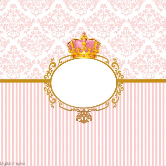 Kit Digital Corona De Princesas Para Descargar Gratis Princesas Disney