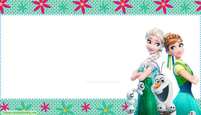 Etiquetas Frozen 2