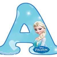 Letras de Frozen Abecedario completo para descargar gratis