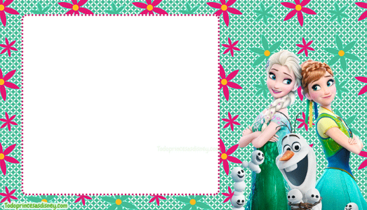 invitaciones Frozen Fever