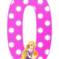 Numeros de Rapunzel para Descargar e Imprimir Gratis