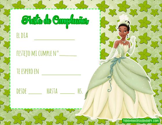 Invitaciones-de-Tiana-Princesa-y-El-Sapo-