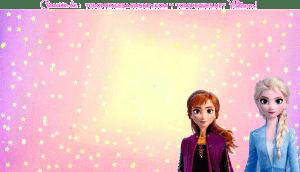 Cumpleanos de Elsa y Anna Frozen 2